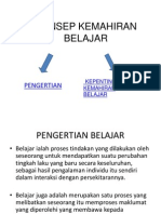 2. Konsep Kemahiran Belajar