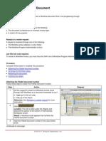 Restarting a Workflow Document