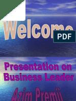 Business leader AZIM PREMJI