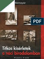 123913448 Stefan Niemayer Titkos Kiserletek a Naci Birodalomban