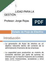 Tema 2. Estado de Flujo de Efectivo. J. Rojas