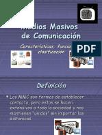 Medios Masivos de Comunicación II° Medio
