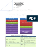 Protocolos Usados Por Cada Una de La Diferentes Capas