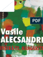 Alecsandri Vasile - Insira-Te, Margarite (Cartea)
