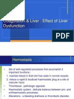 Liver Dysfunction .Coagulation