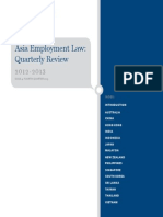 Asia Employment Law Quarterly Review 2013Q4