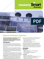 Natural Ventilation Systems