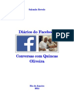 Diários do facebook & Conversas com Quincas Oliveira