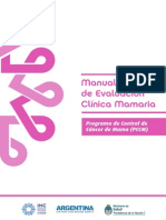 Manual Operativo de Evaluacion Clinica Mamaria