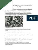 Relatório da PIDE-DGS sobre o Festival Vilar de Mouros de 1971