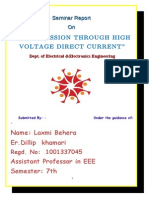 Transmission Through High Voltage Direct Current