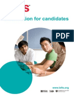 information for candidates 2013