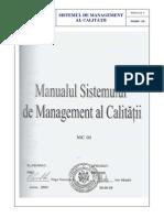 Manualul calitatii  (1)