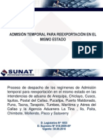 SUNAT6-Admision Temporal Para Reexportacion en El Mismo Estado