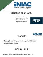 Equação de 2º Grau