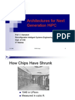 Architectures for Next Generation HiPC