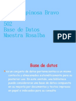 Base de Datos Exp