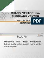 Ruang Vektor IPGM
