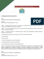Lei Orgânica de Rio de Janeiro-RJ