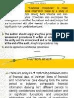 analyiticalreviewproceduresandgoingconcern-101105102814-phpapp01