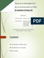 Lorenzo & Texas-Air
