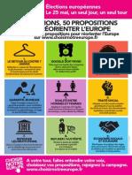 Tract Meeting Europe Paris
