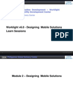 Module 2 - Designing Mobile Solutions
