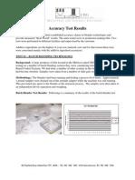 CRG Logics - Accuracy Batch Testing