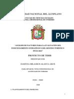 PROYECTOEVALUACIÓN DEL POSICIONAMIENTO ESTRATÉGICO DE DESTINOS TURÍSTICOS
