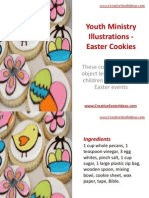 Youth Ministry Illustrations - Easter Cookies