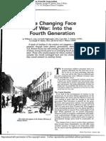Lind Et Al - Changing Face of War Fourth Generation