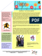 Circle of Hope - April 2014 Newsletter