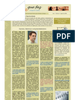 Newsletter Gente Que Faz 3 Ago 2009