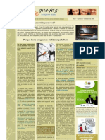 Newsletter Gente Que Faz 4 Set 2009