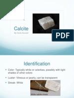 mineral proj- calcite final
