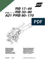 A21 PRB 17-49, A21 PRB 33-90,