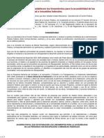 Lineamientos de Accesibilidad en Muebles Inmuebles Públicos.