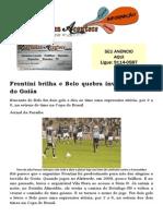 Frontini brilha e Belo quebra invencibilidade do Goiás