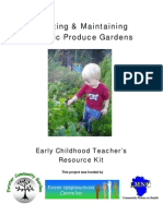 Teachers Guide to Creating Organic Produce Gardens