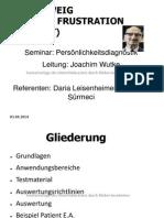 Rosenzweig_Picture_Frustration_Test_PFT.ppt