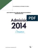 Guia 2014 Economico Administrativas