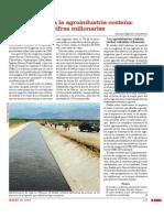 Subsidios a la agricultura costeña