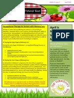 woodruff manor april 2014 newsletter