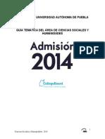 Guia 2014 Sociales y Humanidades