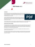 Prolexic ThreatAdvisory DNS Flooder A4 021214