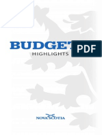 2014 Nova Scotia Budget Highlights