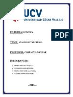 ESTATICA ( analisis estructural)