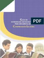 Guia de Estrategias Metacognitivas Para La Comprension Lectora