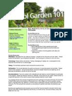 School Garden 101 Course