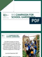 RHS Campaign for School Gardening